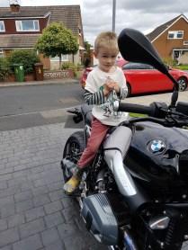 the 'black bike'