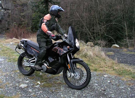KTM 950 Adventure Electric motorcycle adventure