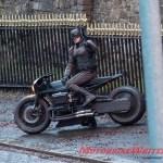 Batman Crashes Batcycle In Filming Motorbike Writer