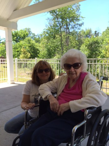 Me and my grandma.