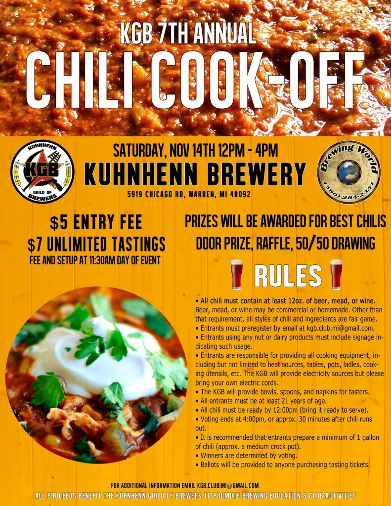 KGB Chili Cook-off 2015