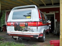1979 Dodge Ran Star Wars Van Rear