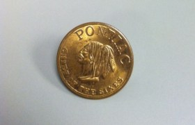 Pontiac Chief of the Sixes Coins Heads