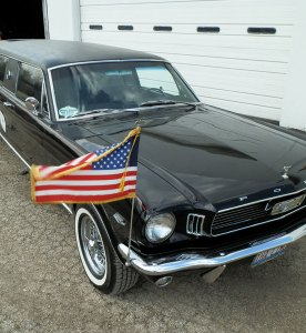 Prom Date: 1966 Ford Mustang Limousine