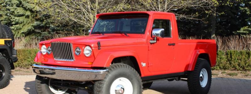 2012 Mopar Jeep JC-12 Pickup Truck Concept Gallery