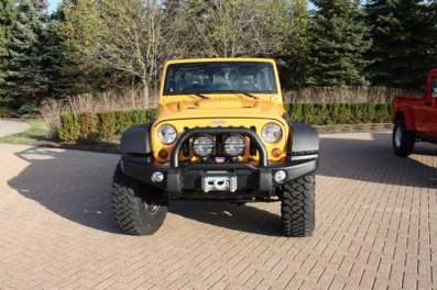 2012 Mopar Jeep Traildozer Concept Bumper Grille Moab -MotorCity