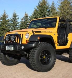 2012 Mopar Jeep Wrangler Traildozer Concept Gallery