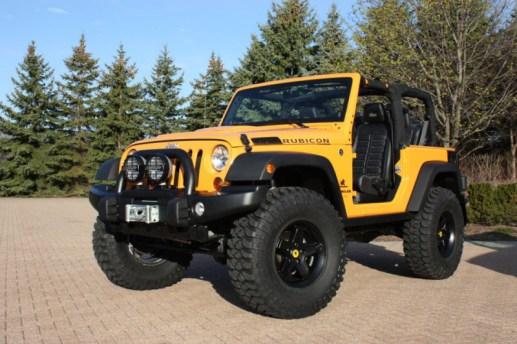2012 Mopar Jeep Traildozer Concept Moab -MotorCity