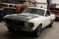 Barn Find 1967 Shelby Mustang GT500 Fastback Front