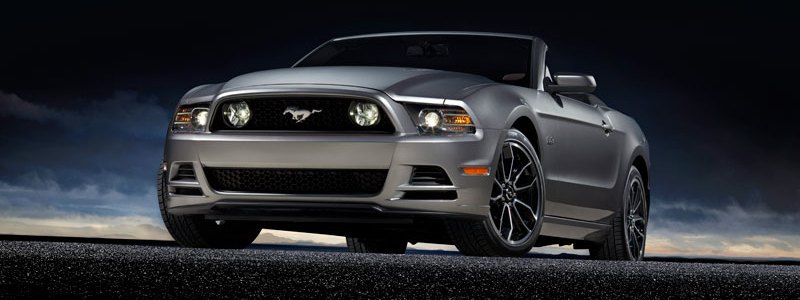 2013 Ford Mustang Unveiled With New Shelby Style Grille