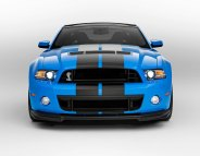 2013 Shelby GT500 Grabber Blue 650 HP 200 MPH Front Motor City