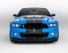 2013 Shelby GT500 Grabber Blue 650 HP 200 MPH Front Motor City