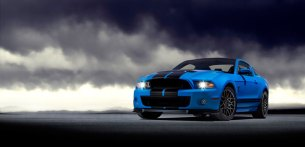 2013 Shelby GT500 Grabber Blue 650 HP 200 MPH Motor City