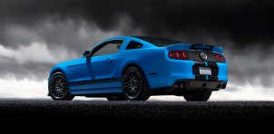 2013 Shelby GT500 Grabber Blue 650 HP 200 MPH Rear Motor City