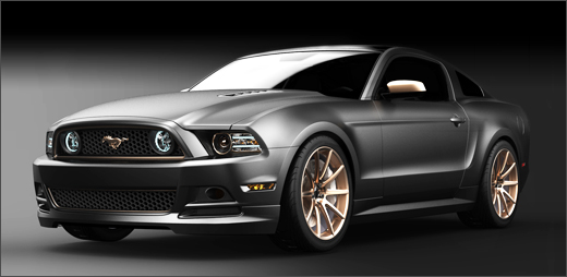 Woman's Work: 2013 High Gear SEMA Mustang