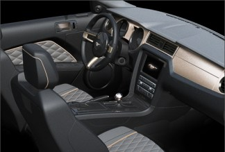2013 Ford Mustang High Gear Project Car Interior