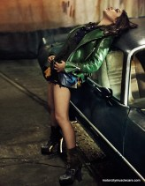 Mila Kunis Poses 1977 Pontiac Trans AM Interview Magazine