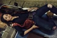 Mila Kunis Posing 1977 Pontiac Trans AM Interview Magazine
