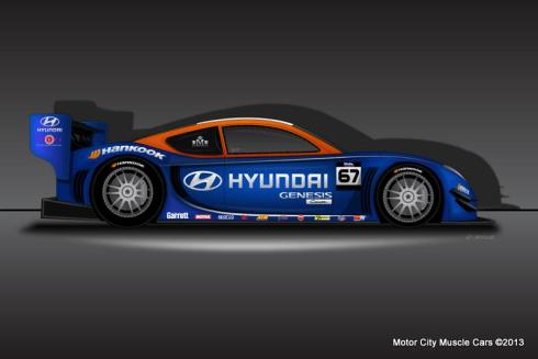 2013 Hyundai RMR Millen Pikes Peak International Hill Climb – Unlimited Class Racecar