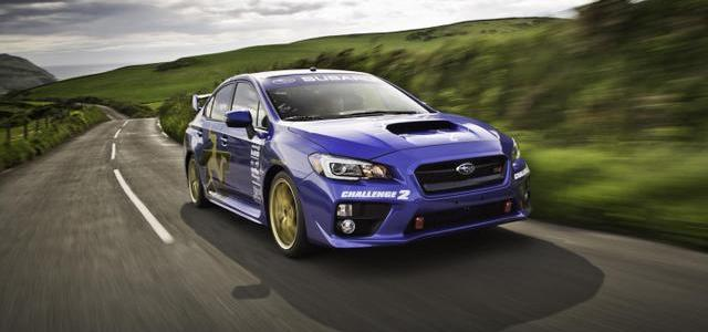 2015 SUBARU WRX STI Sets Isle of Man Lap Record at 117.5 MPH