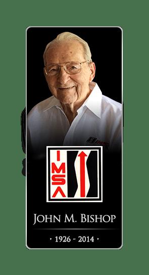 John Bishop IMSA Passes Away 2014