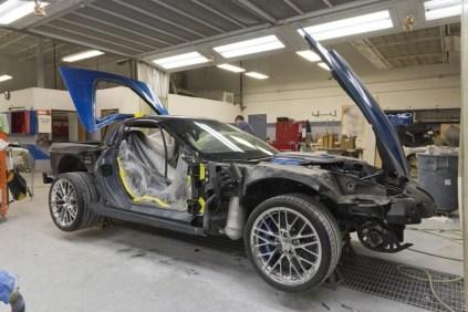 2009 Corvette ZR1 Museum Sinkhole Blue Devil