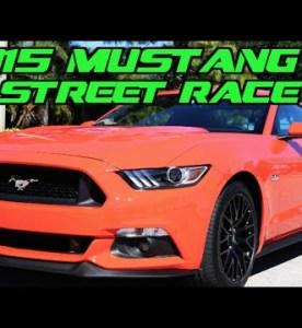 Street Race: 2015 Mustang GT Versus 2014 Mustang GT