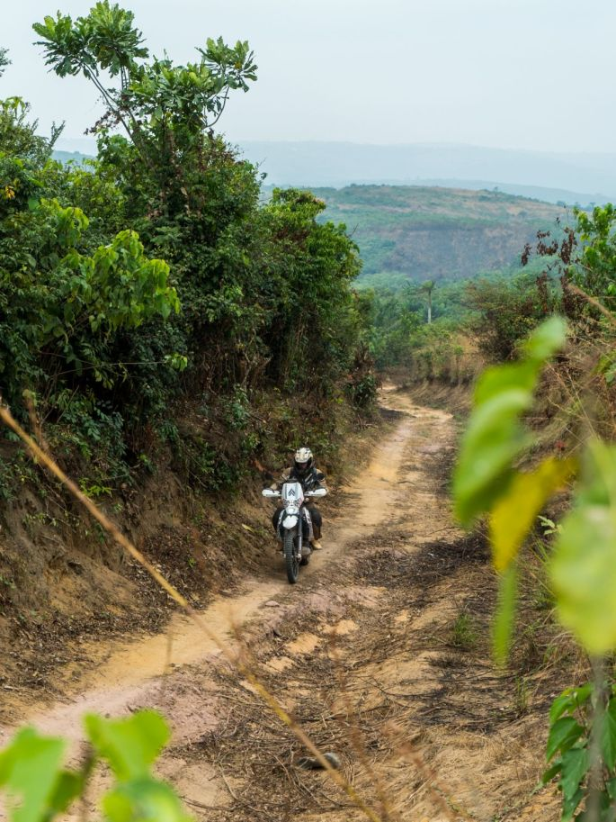 Nomadik and Co: From Ireland to South Africa - Part V Riding Democratic Republic of Congo