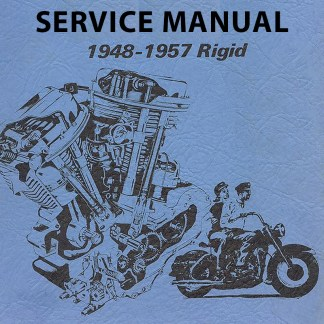 1948-1957 Rigid Panhead Models Service Manual