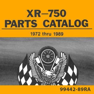 1972-1989 XR750 Parts Catalog