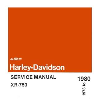 1978-1980 XR 750 Models Service Manual