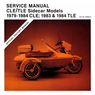 1979-1984 CLE/TLE Sidecar Service Manual