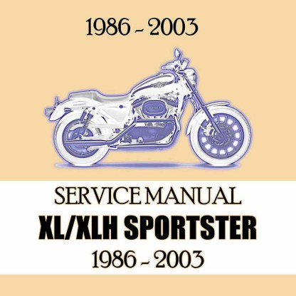 1986-2003 XL/XLH Sportster Service Manual