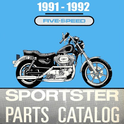 1991-1992 Sportster Models Parts Catalog