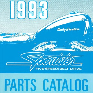 1993 Sportster Models Parts Catalog