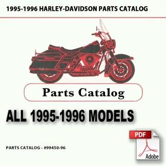 1995-1996 All 1340cc Models Parts Catalog