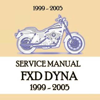 1999-2005 Dyna Models Service Manual