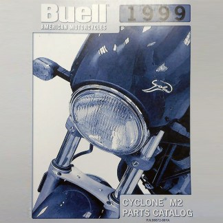 1999 Buell Cyclone M2 Models Parts Catalog