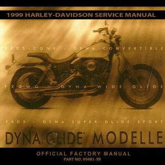 1999 Dyna Models Service Manual