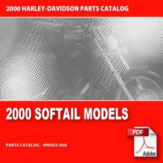 2000 Softail Models Parts Catalog