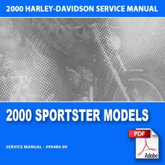 2000 Sportster Models Service Manual
