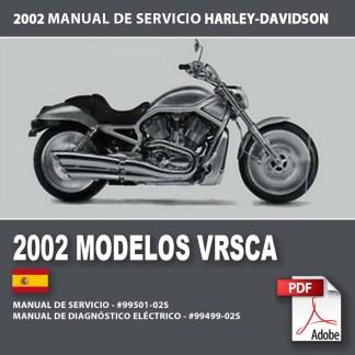 2002 Manual de Servicio Modelos VRSCA