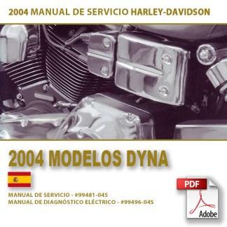 2004 Manual de Servicio Modelos Dyna