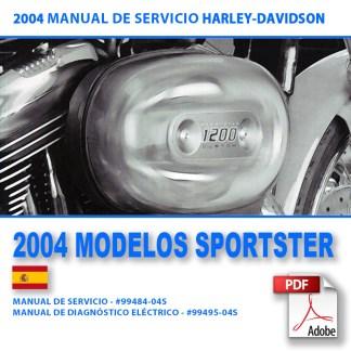 2004 Manual de Servicio Modelos Sportster