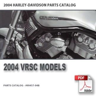 2004 VRSC Models Parts Catalog