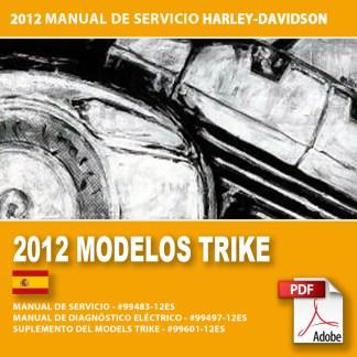 2012 Manual de Servicio Modelos Trike