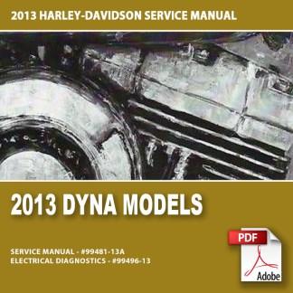 2013 Dyna Models Service Manual