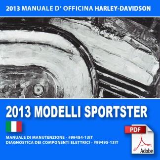 2013 Manuale di manutenzione modelli Sportster