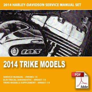 2014 Trike Models Service Manual