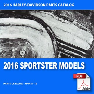2016 Sportster Models Parts Catalog
